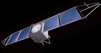 Wizja artystyczna orbitera marsjańskiego Yinghuo-1, credit: Gunter Dirk Krebs