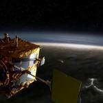 Sonda Akatsuki na orbicie Wenus - wizualizacja / Credits: JAXA