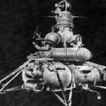 Lądownik księżycowy Łuna 16, credit: NASA SSE