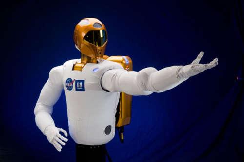 Robonauta 2, credit: NASA