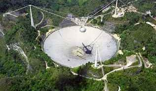 Obserwatorium Arecibo / Credits: NAIC