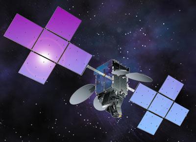 Wizja artystyczna satelity Nimiq-5, Credit: Space Systems/Loral