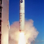Start rakiety Athena 1 z wyspy Kodiak, (c) NASA - domena publiczna