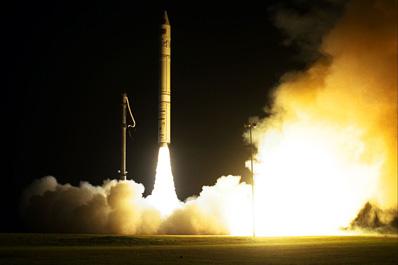 Start rakiety Athena-2 z Przylądka Canaveral,  (c) NASA - domena publiczna