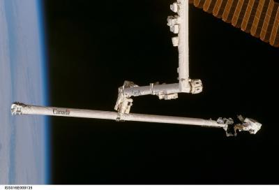 Prawdziwa 'kosmiczna' naprawa w czasie misji STS-120 / Credits: wikipedia