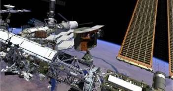 Wizualizacja VX-200 zainstalowanego na ISS / Credits: NASA