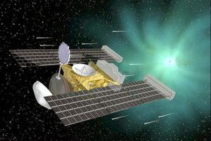 Przelot sondy koło komety Wild 2 - wizja artystyczna / Credits - NASA
