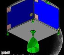 Sonda ESMO - ogólny kształt / Credits - ESMO, ESA