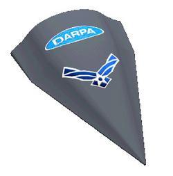 Pojazd powietrzny HTV-2 / Credits: DARPA