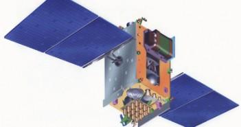 Satelita GSAT-4 (Insat-4). GSAT-10 jest oparty na podobnej konstrukcji (Credits: ISRO)