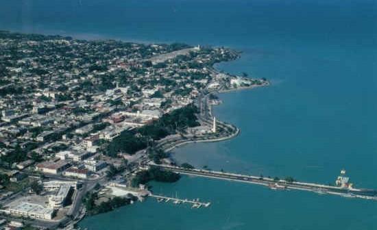 Widok nadbrzeża miasta Chetumal, WikiCommons - domena publiczna