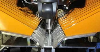 Urządzenie łączące dwie płyty metalu za pomocą metody SFW, credit: NASA/MSFC/D. Stoffer