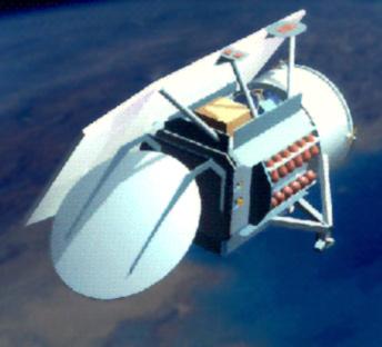 Geosat Follow-On - wygląd GFO-2 nie jest jeszcze znany, (C) USAF/NASA - domena publicza