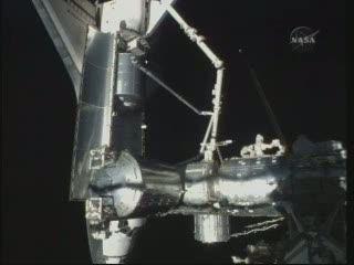 Na godzinę przed rozłączeniem / Credits - NASA TV