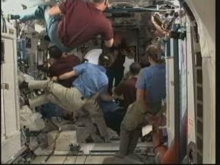Powitanie / Credits - NASA TV