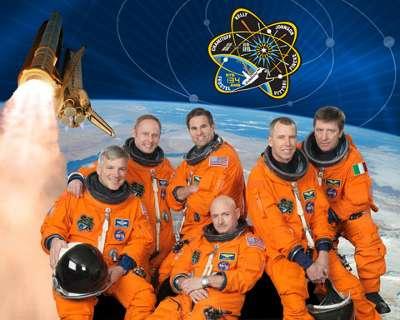 Załoga STS-134 / Credits: NASA