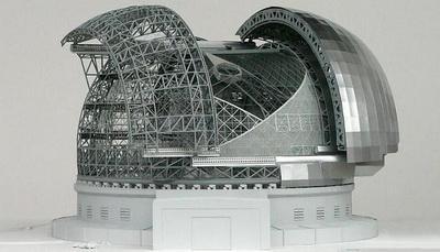 Wizualizacja European Extremely Large Telescope / Credits: ESO