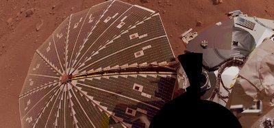 Panel słoneczny lądownika Phoenix / Credits - NASA