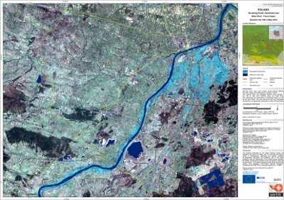 Sytuacja powodziowa w Sandomierzu 19 maja 2010 r.