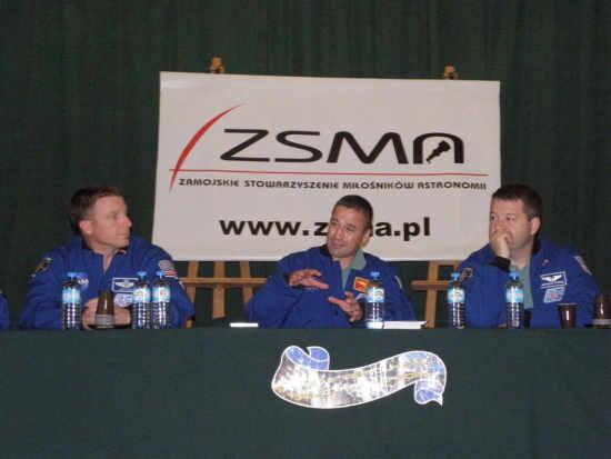George Zamka opowiada o module Node-3, credit: ZSMA