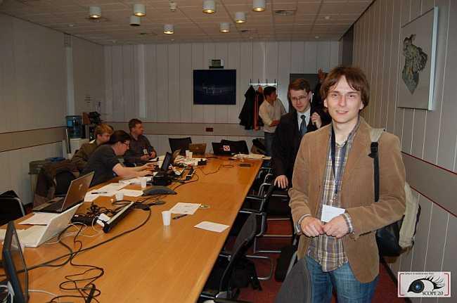 Krzysztof Gedroyć z zespołu SCOPE 2.0 chwilę po zakończeniu przeglądu/credits: Jarosław Jaworski