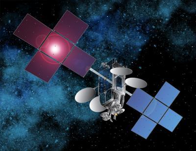 Wizualizacja satelity Jupiter-1, credits: Space Systems/Loral