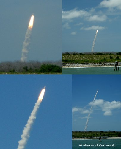 Start STS-132 / Credits - Marcin Dobrowolski