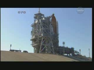 Godzina 23:48 CEST - odsuwanie RSS od promu / Credits - NASA TV