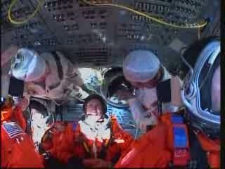 Wszyscy na pokładzie! / Credits - NASA TV