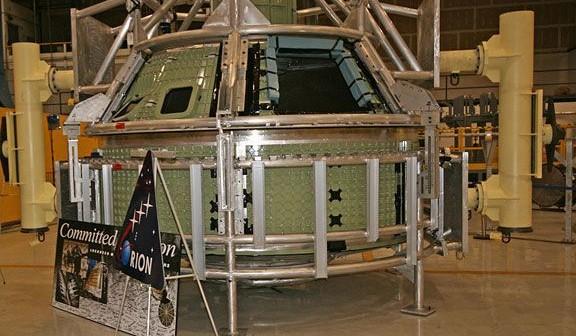 Ukończona główna struktura GTA (Lockheed Martin/Ken Kremer)
