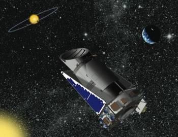 Wizja artystyczna teleskopu Kepler / Credits - NASA