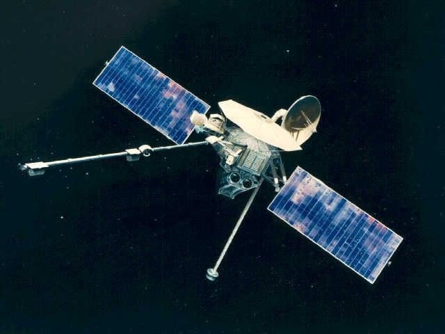 Wizja artystyczna Marinera 10 (NASA)