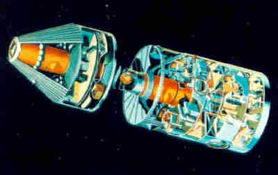 Wizja artystyczna stacji kosmicznej projektu MDAC (McDonnell-Douglas)