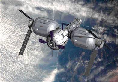 Wizja komercyjnej stacji orbitalnej firmy Bigelow Aerospace / Credits - Bigelow Aerospace