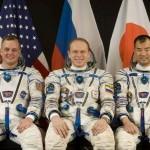 Załoga Sojuza TMA-17: T.J. Creamer, Oleg Kotov i Soichi Noguchi