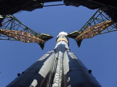 Rakieta Sojuz, która wczoraj wyniosła statek Sojuz TMA-19 na orbitę / Credits - Douglas Wheelock