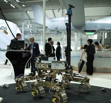 Bruno - jeden z modeli inżynieryjnych łazika ExoMars / Credits - Tadeusz Kocman