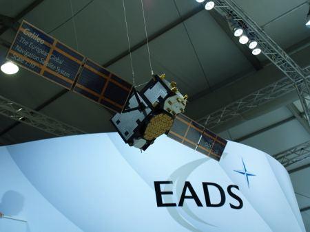 Makieta satelity geolokacyjnego Galileo / Credits - Tadeusz Kocman
