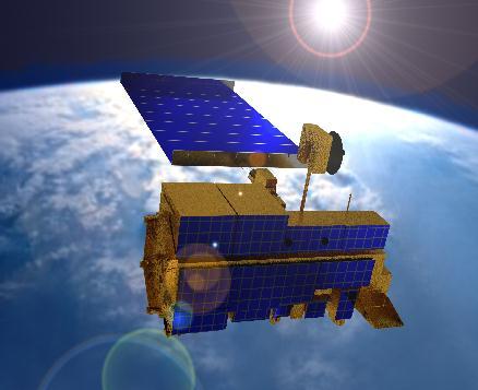 Satelita Terra (Credits: NASA - Public Domain)