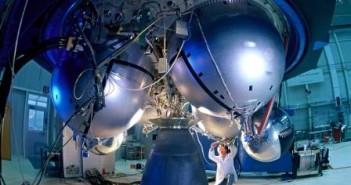 Silnik Aestus rakiety Ariane 5 (Copyright: EADS)
