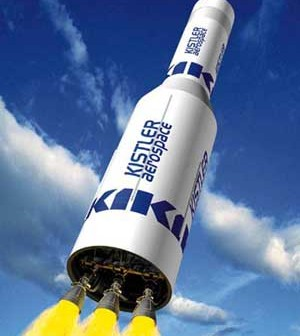 Rakieta K-1 firmy Rocketplane / Credits - NASA