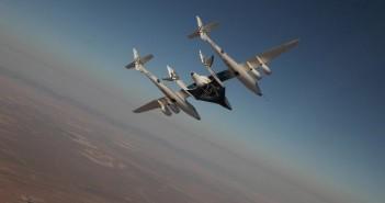 Lot z 15 lipca, kiedy to wewnątrz SpaceShipTwo przebywała załoga / Credits - Virgin Galactic