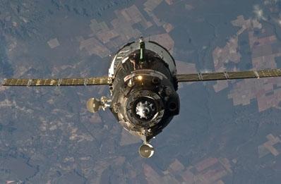 Sojuz nie może odcumować / NASA