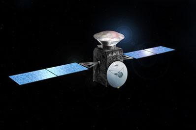 Wizualizacja orbitera ExoMars z lądownikiem / Credit: ESA