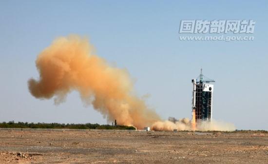 Start rakiety Chang Zheng 2D z satelitą Tian Hui 1 (Zhang Xiaoqi/MOD)