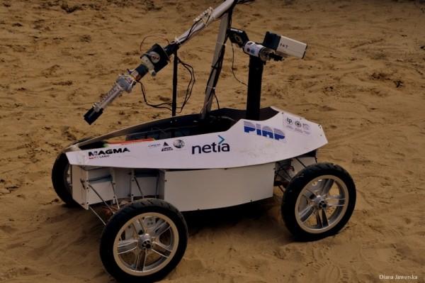 Marsjański Robot Mobilny Magma (Credits: Diana Jaworska)