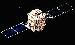 Satelita typu DSCS III - wizja artystyczna