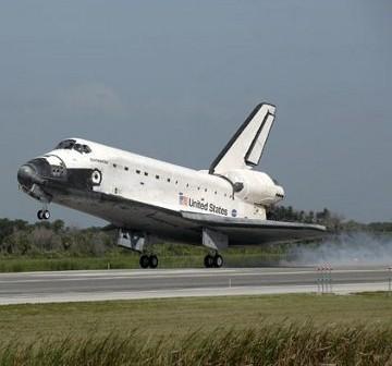 Koniec misji STS-127, 31 lipca 2009 / Credits - NASA