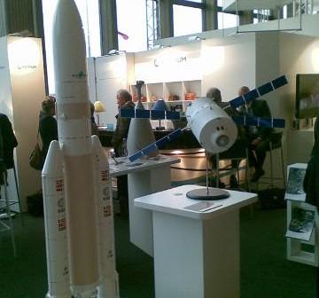 Stanowisko Europejskiej Agencji Kosmicznej na IAC 2010 / Credits - Michał Moroz