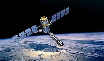 Wizualizacja satelity SMOS / credits: ESA